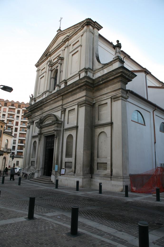 Santa Croce abbey - Mortara