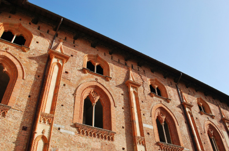 Sforza Castle in Vigevano