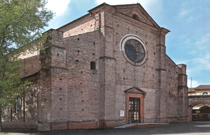 Church Of Saint Salvatore Pavia