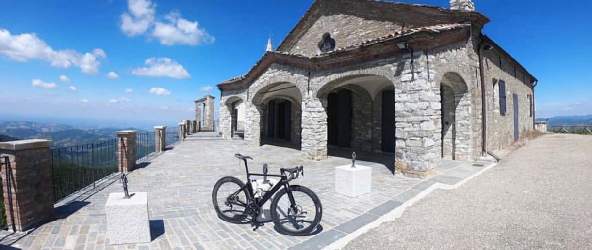 Il Monte Penice in bici