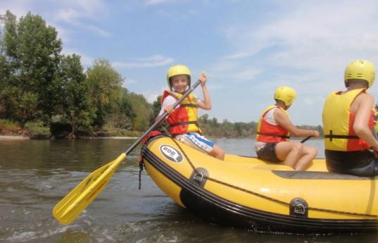 Classic rafting per famiglie e amici