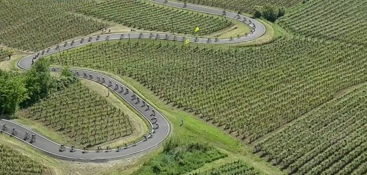 Il percorso del Giro d'Italia 2021 in Oltrepò Pavese