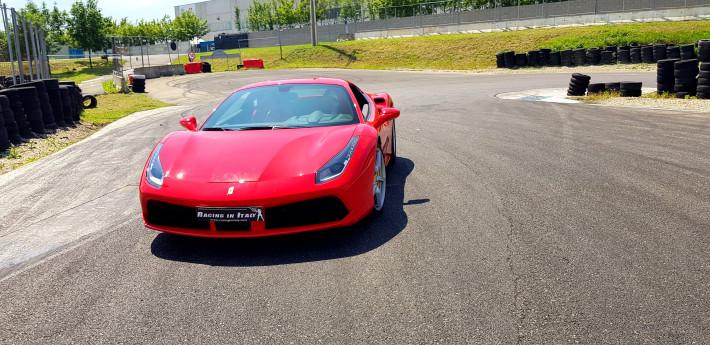 Test Drive a Ferrari 488 on an Italian racing track.