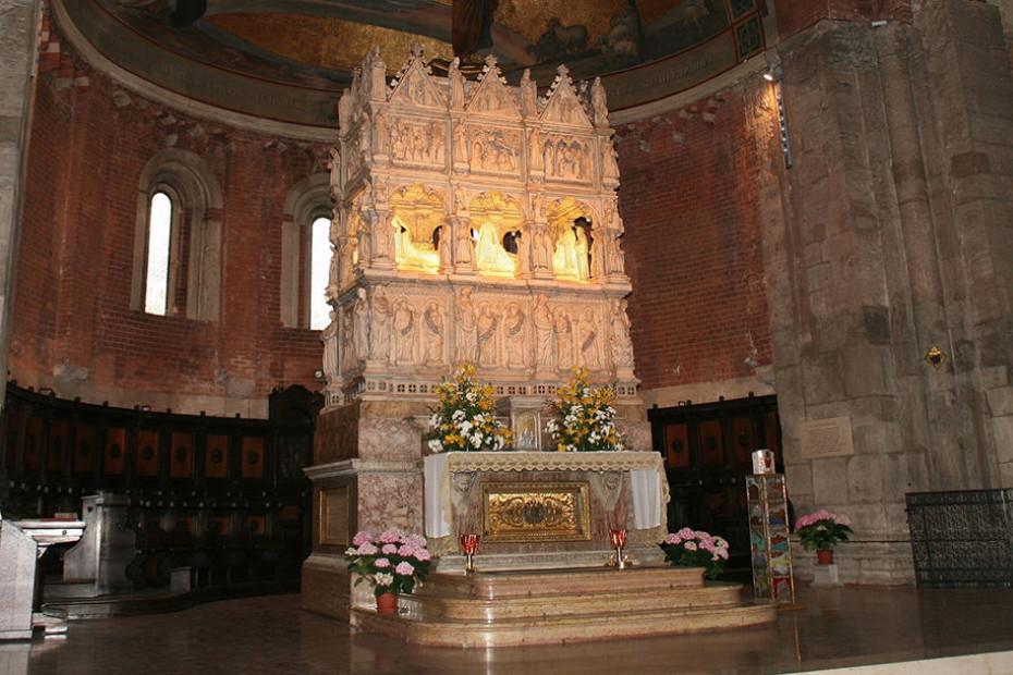 2. Basilica of San Pietro in Ciel d'Oro