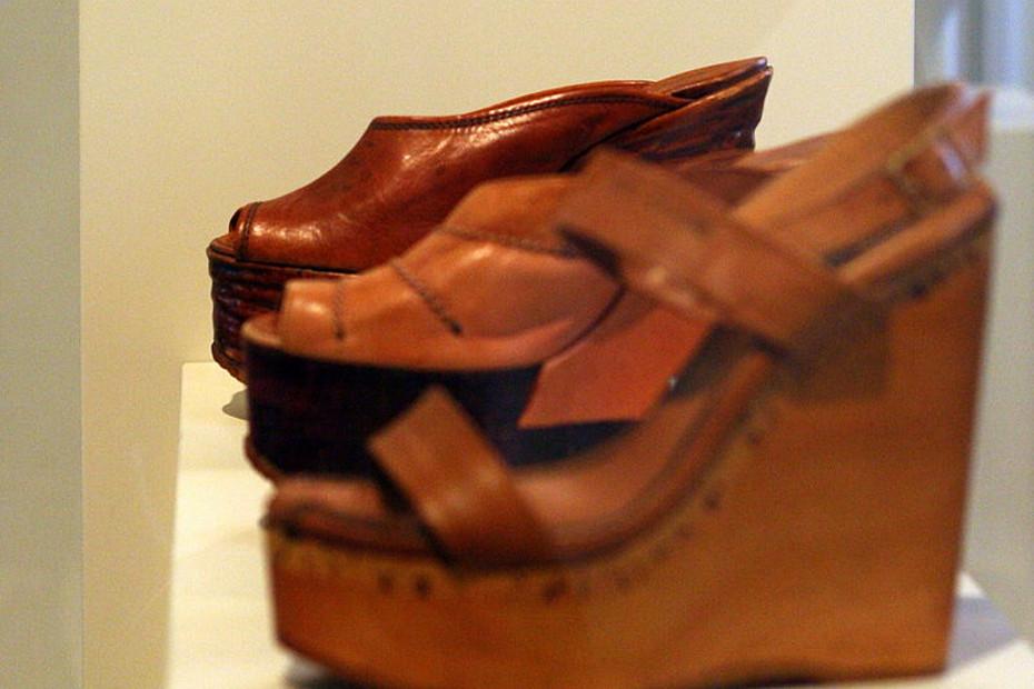 4. Le sue scarpe sono da museo