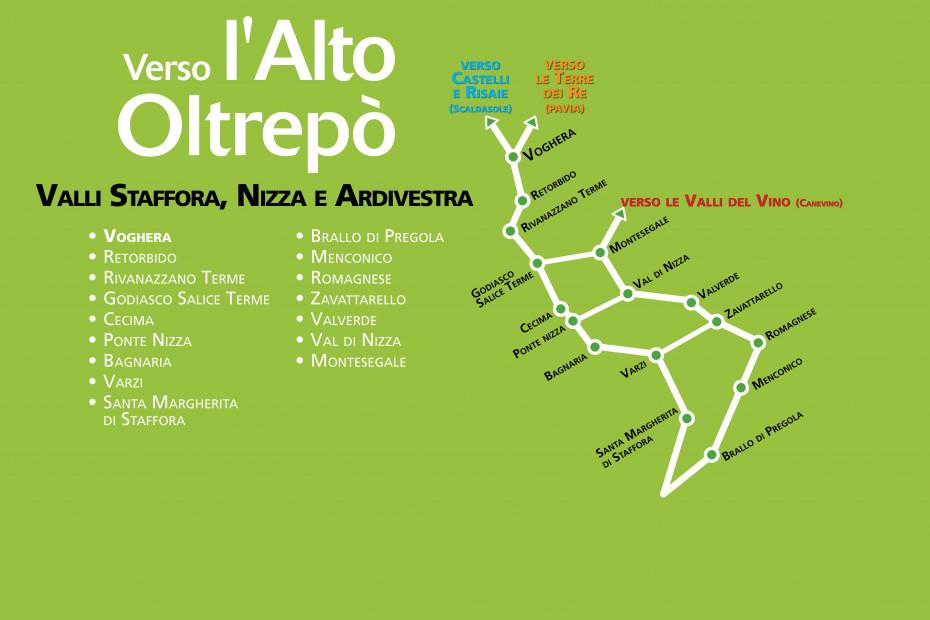 Itinerario Verso l'Alto Oltrepò