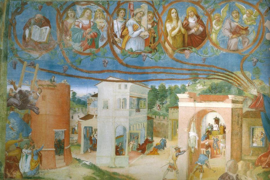 7. Oratorio Suardi, Trescore Balneario (Bergamo)